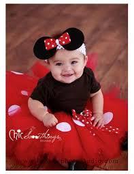 Minnie Mouse Halloween Costume Toddler Minnie Mouse Tutu Baby Tutu Puff Headband Chicsomethings