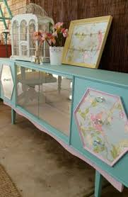 dresser with pull down desk painted with dixie belle chalk mineral