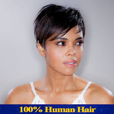 short hairstyle wigs for black women brazilian virgin human hair short wig for black women human hair