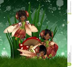 cute african american fairies stock images image 27030884