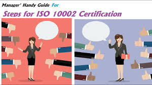 iso 10002 complaint management steps for iso 10002