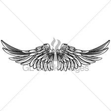 metal gold wings gl stock images