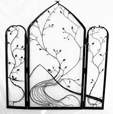 Wrought Iron Room Divider by Wrought Iron Room Divider Wall Art