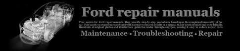 free ford service and repair manuals ford fiesta repair manuals