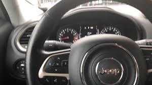 jeep steering wheel adjusting steering wheel jeep renegade how to youtube