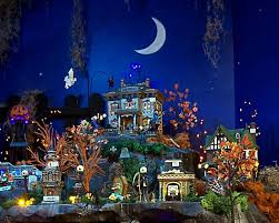 background for halloween village halloween fall wallpapers group 65