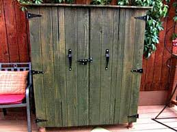 diy outdoor storage cabinet 48 outdoor wood storage cabinets with doors diy outdoor kitchen