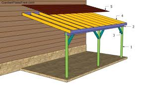 attached carport attached carport plans free garden plans how to build garden