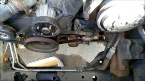 timing belt and water pump replacement nissan frontier xterra
