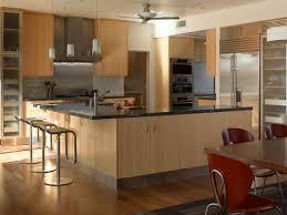 bamboo kitchen cabinets houzz