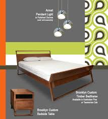 Timber Bedroom Furniture Sydney Mad For Mad Men Trendalert Mid Century Modern Interiors