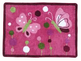 Raspberry Pink Rug Amazon Com Lambs U0026 Ivy Raspberry Swirl Rug Nursery Rugs Baby