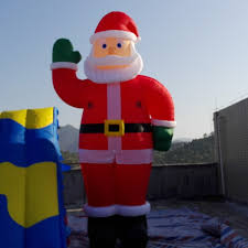 Inflatable Christmas Decorations Outdoor Cheap - large outdoor santa promotion shop for promotional large outdoor