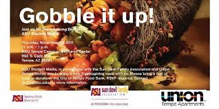 asu thanksgiving dinner 2017 tickets thu nov 23 2017 at 11 00