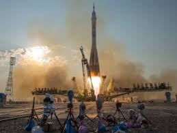 upgraded soyuz prepped to carry three to space station