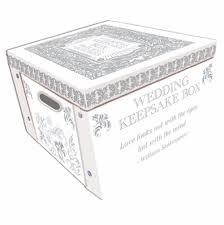 wedding keepsake box white wedding keepsake box a lifetime of memories
