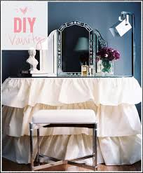 Diy Vanity Table The Beauty Department Your Daily Dose Of Pretty Gather U0027round