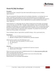 Java Developer Resume Template Remarkable Resume For Sql Developer Fresher In Senior Java