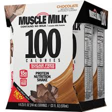 100 calorie muscle milk light vanilla crème muscle milk 100 calories chocolate sugar free protein nutrition