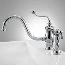 gunnison single hole kitchen faucet with side spray kitchen