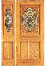 apartment espresso wooden door design with double modern front door