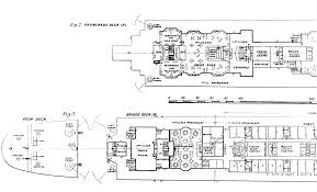 Titanic Floor Plan by A Hays Town House Plans