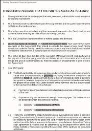 binding financial agreement template 28 images binding