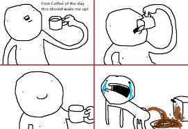 how i know the coffee s working pics