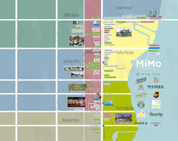 Miami Design District Map by Huizenga College Of Business Marketing Blog