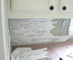 how to install a kitchen backsplash breathtaking installing kitchen backsplash installing kitchen tile