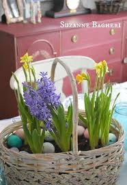 Easter Decorations Outside by Spring Basket Bulb Garden Hometalk