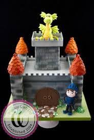 dragon castle cake castle cakes pinterest castles dragons