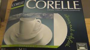 Corelle Dishes Ebay Unboxing Dishes My New Ones Youtube