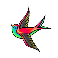 colorful bird tattoo tattooimages biz