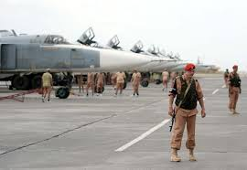 Russia Equipped Six Military Bases by First Group Of 6 Sukhoi Su 24 Bombers Back To Russia From Syria