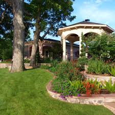 Backyard Flower Bed Designs Flower Bed Designs Landscape Traditional With Wood Fencing