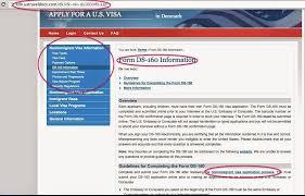 philippine passport applying for a us tourist visa ds 160 form