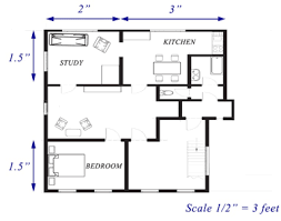 Draw A Floorplan To Scale Read And Interpret Scale Drawings And Floor Plans Ck 12 Foundation