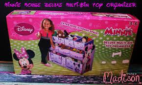 Disney Toy Organizer Delta Deluxe Multi Bin Toy Organizer Annmarie John