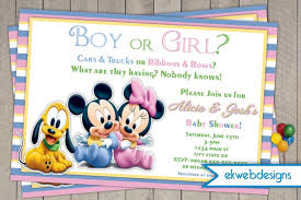baby mickey baby shower baby mickey search results custom invitations by ekwebdesigns