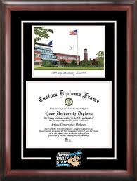 ohio state diploma frame grand valley state lakers diploma frames central