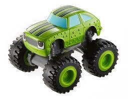 superheroes trucks car garage monster amazon com fisher price nickelodeon blaze u0026 the monster machines