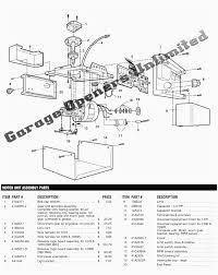 beautiful genie garage door opener wiring diagram pictures simple