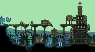 adventure time tree fort built in starbound adventure time