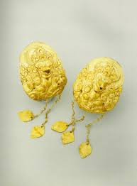 gold earrings philippines philippine pre hispanic jewelry