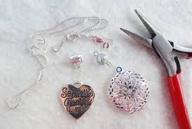 diy necklace charms images Diy essential oil diffuser necklaces live craft love png