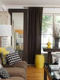 Yellow Living Room Design Ideas Deep Brown Living Rooms And - Yellow living room decor
