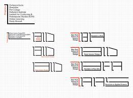 york interior design custom typeface graphis
