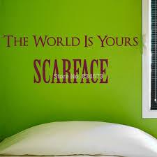 Scarface Home Decor Scarface Wall Mural Wall Murals You U0027ll Love