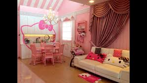 Hello Kitty Bedroom In A Box Women Decorate Their Homes Thoroughly In A Hello Kitty Theme Home